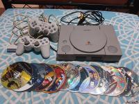 1 عدد کنسول بازی PS1 به همراه 13 بازی متنوع