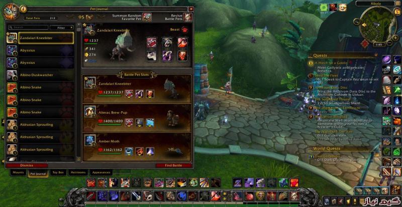 wow battle for azeroth (server wow freakz)