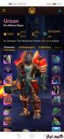 اکانت بازی  Warcraft shadowland epic دارای 3 هیرو